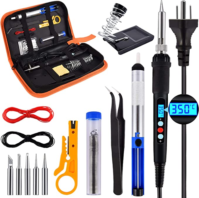 JCD 5Pcs 60W//80W Lead Soldering Iron Tips Replacement for Soldering Repair