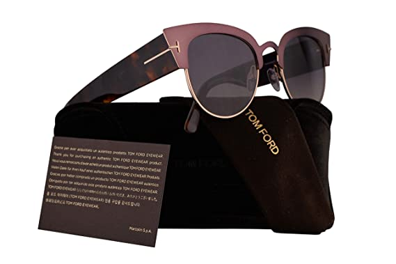 0b0af05d6fba4 Image Unavailable. Image not available for. Color  Tom Ford FT0607 Alexandra -02 Sunglasses ...