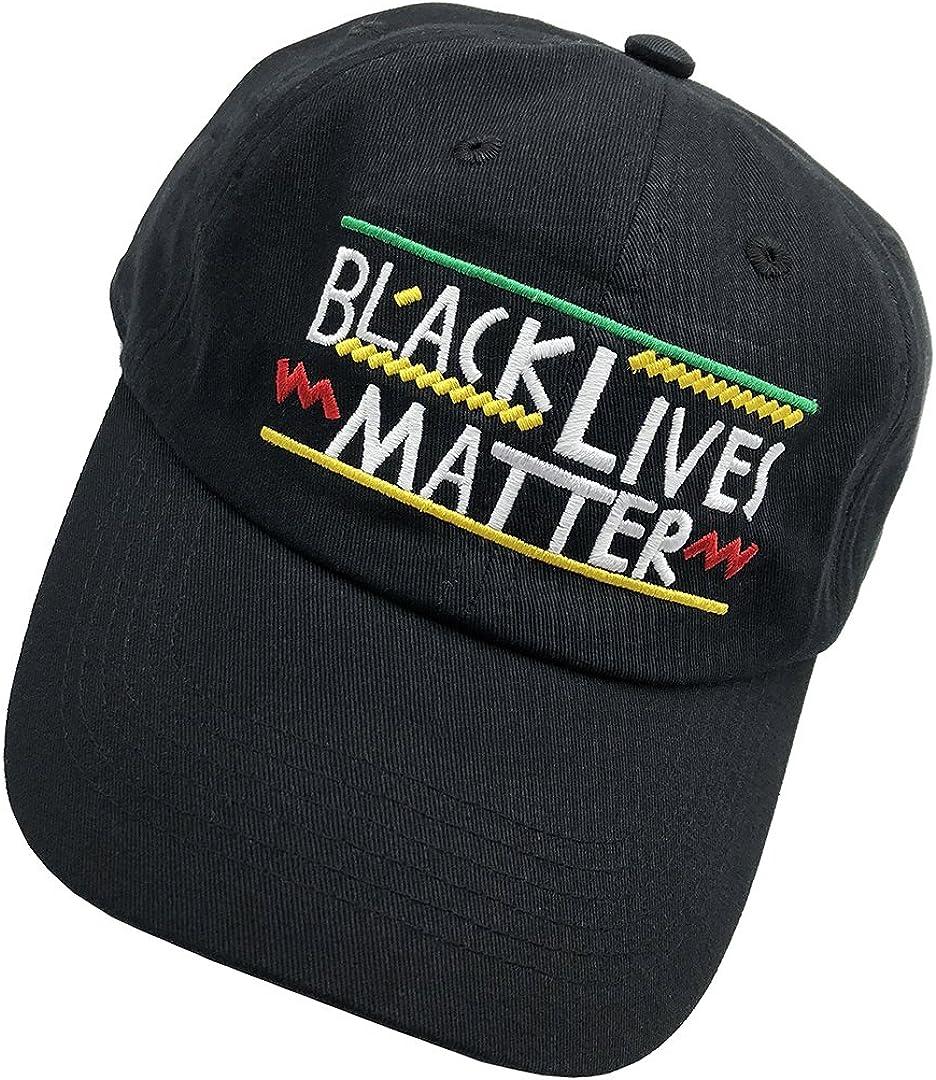 Black Lives Matter Baseabll Cap Dad Hat Embroidered Hat 6 Plain Cap Cotton Hats