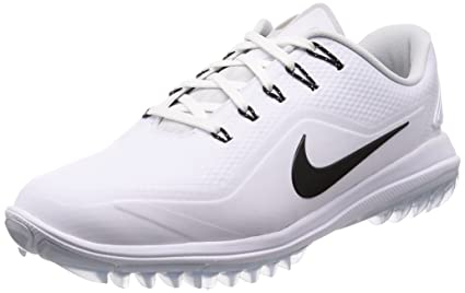 906c4cf72175cf Image Unavailable. Image not available for. Color  NIKE Men s Lunar Control  Vapor 2 Golf Shoes White Black Platinum Volt 10