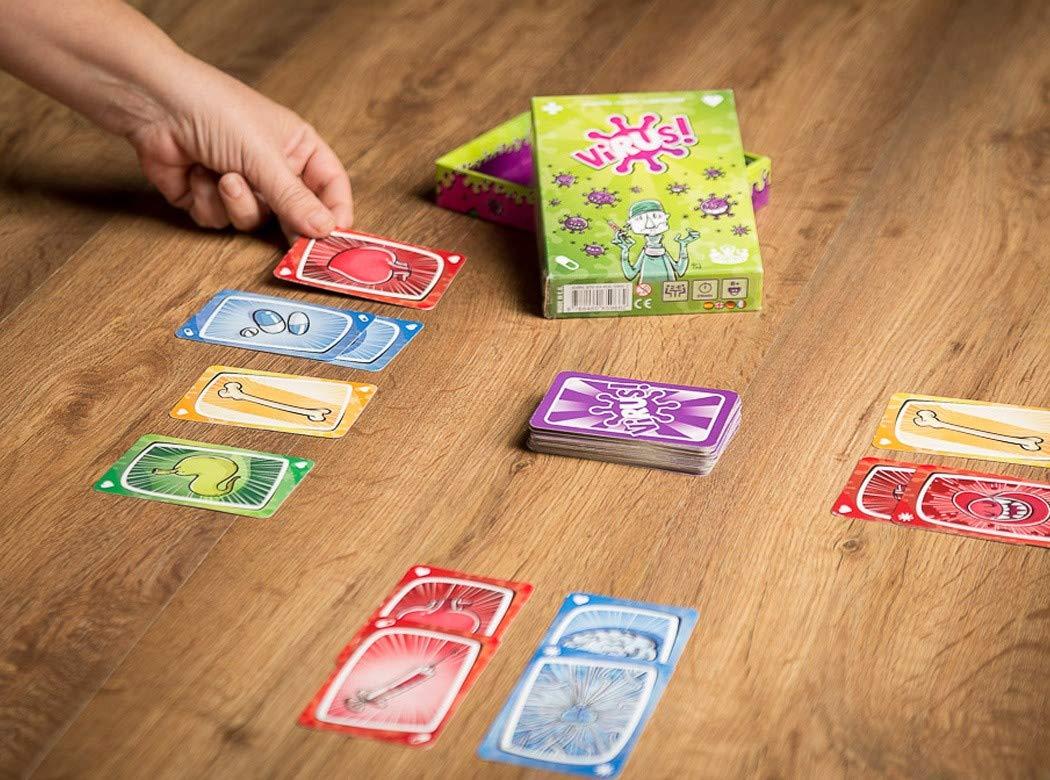 Tranjis Games - Virus! - Juego de cartas (TRG-01vir): Amazon.es ...