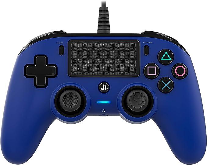 Oferta amazon: Nacon - Mando Compacto para PS4, color Azul