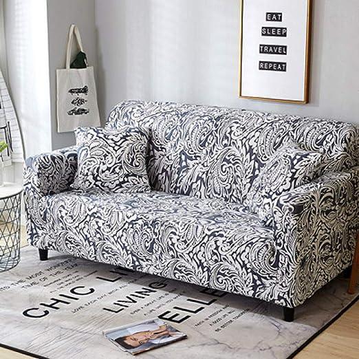 Y·z Fundas Decorativas para sofás Patrón de Plumas de Moda ...