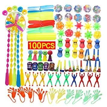 Yunfan Surtido de 100 Juguetes para Rellenar piñatas y ...