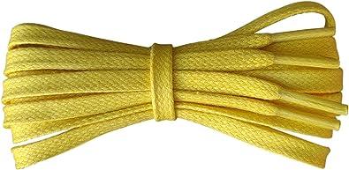 Fabmania Cordones de algodón encerados - plano de 6 mm - Ideal ...