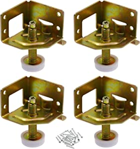 Kyuionty 4 Pack Heavy Duty Furniture Levelers Adjustable Leveling Feet for Furniture, Cabinets, Workbench