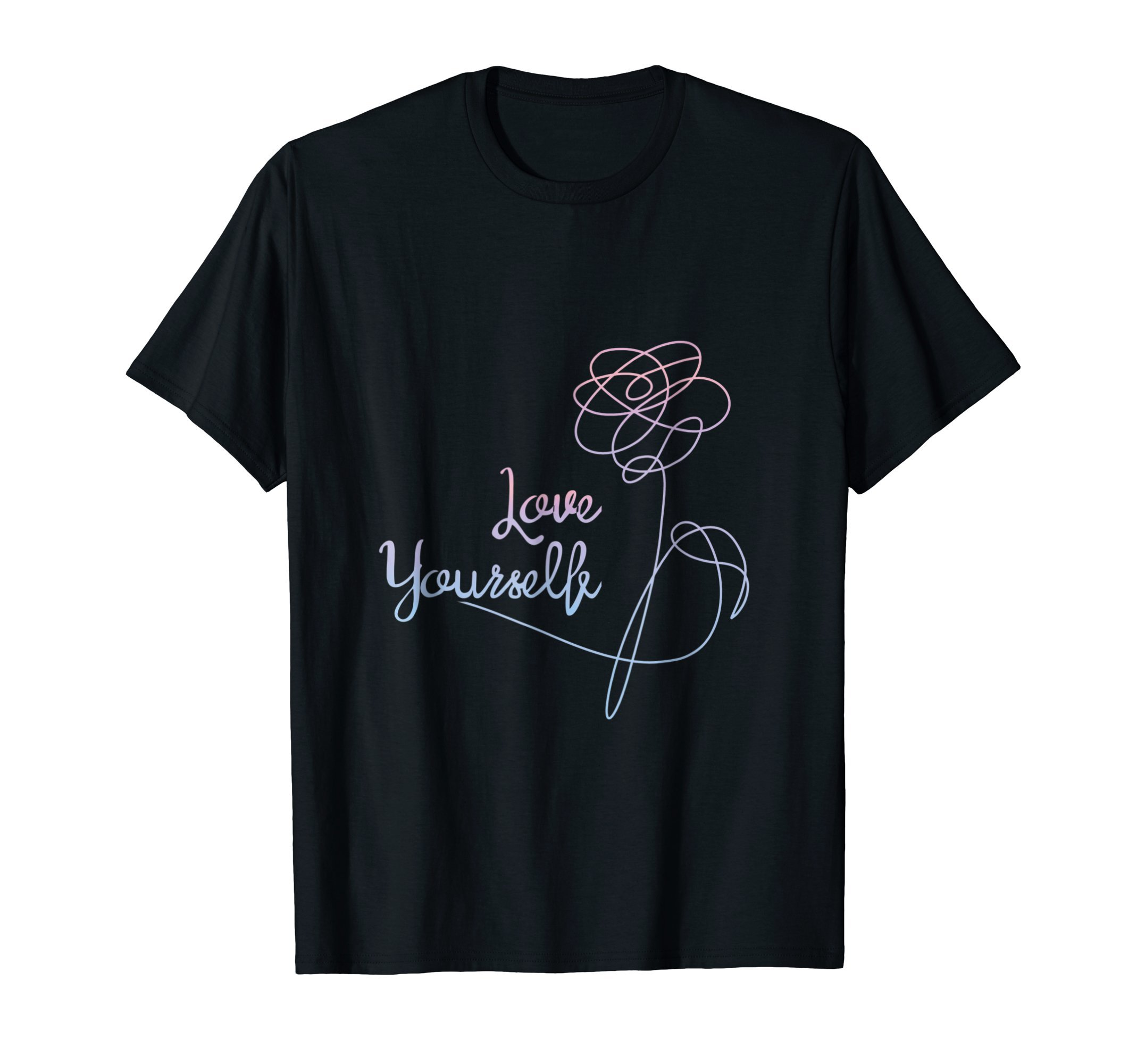 BTS Love Yourself T Shirt Women Cute Gift by BTS Love Yourself Gift (Image #1)