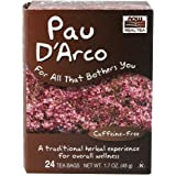 NOW Foods, Pau D'Arco Tea, A Traditional Herbal Experience, Overall Wellness, Premium Unbleached Tea Bags with No-Staples Design, 24-Count