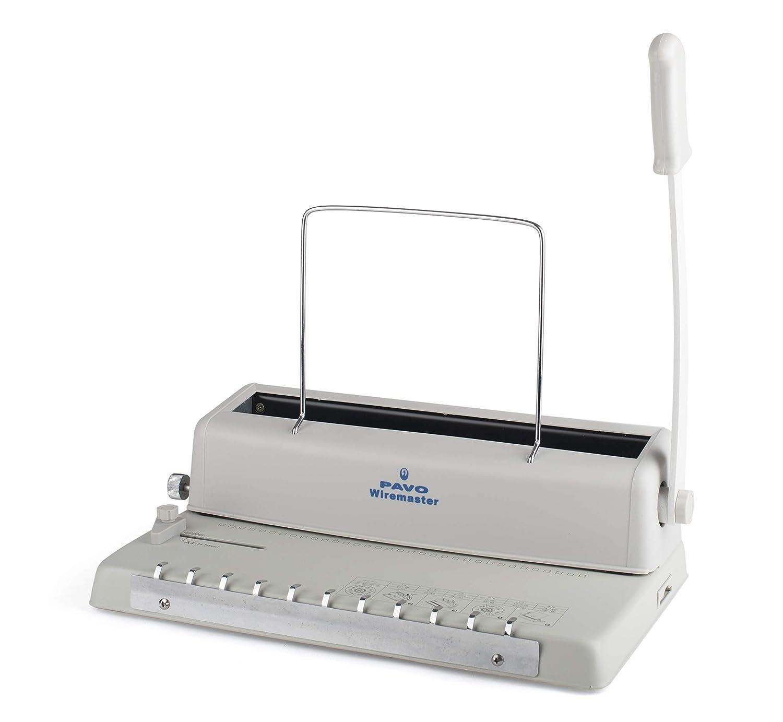 Pavo Wiremaster Drahtbindegerät, 120 Blatt Pavo Sales B.V 8001484