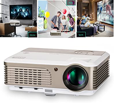 Proyector LCD inalámbrico con Android, Smart Home Cinema WiFi ...