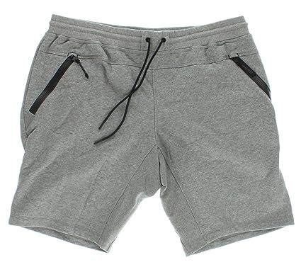 Adidas Mens Sport Luxe Fleece Shorts Grey at Amazon Men's Clothing ...