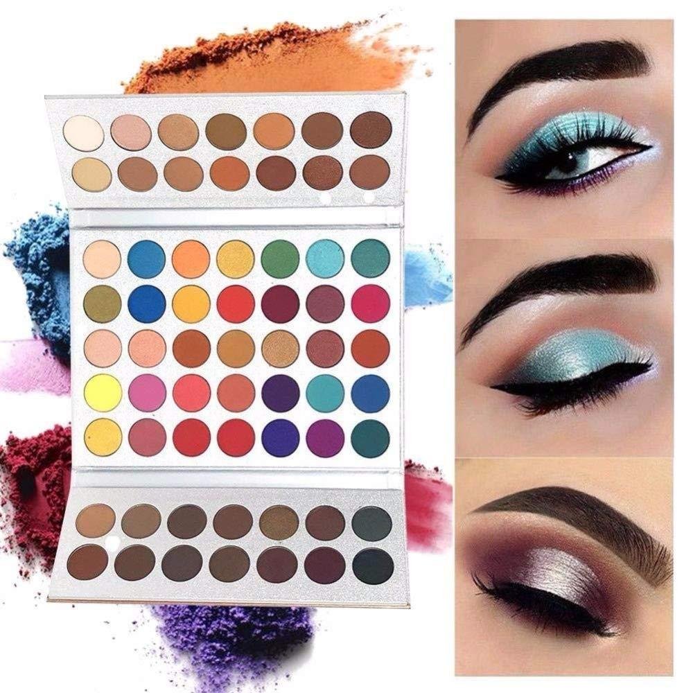 Beauty Glazed 63 couleurs ombre à paupières Shimmer Matte Glitter fards à paupières Eye maquillage ensemble poudre Ombre à paupières Maquillage Palette cosmétique scintillement ombre palettes product image