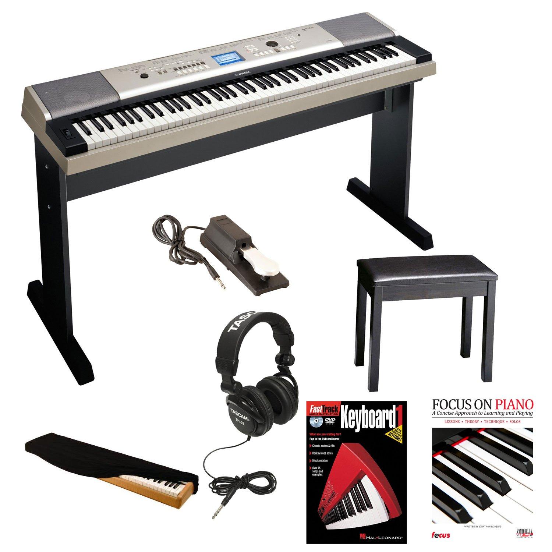 yamaha ypg 535 88 key digital piano w knox padded