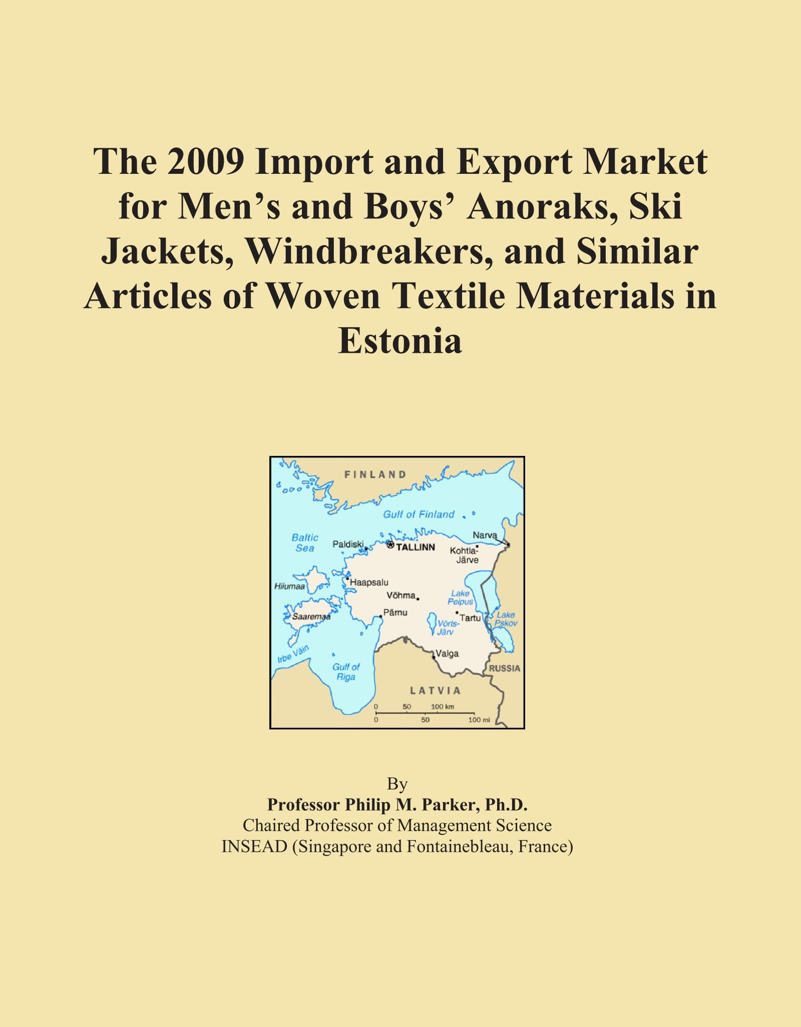 Download The 2009 Import and Export Market for Men's and Boys' Anoraks, Ski Jackets, Windbreakers, and Similar Articles of Woven Textile Materials in Estonia PDF