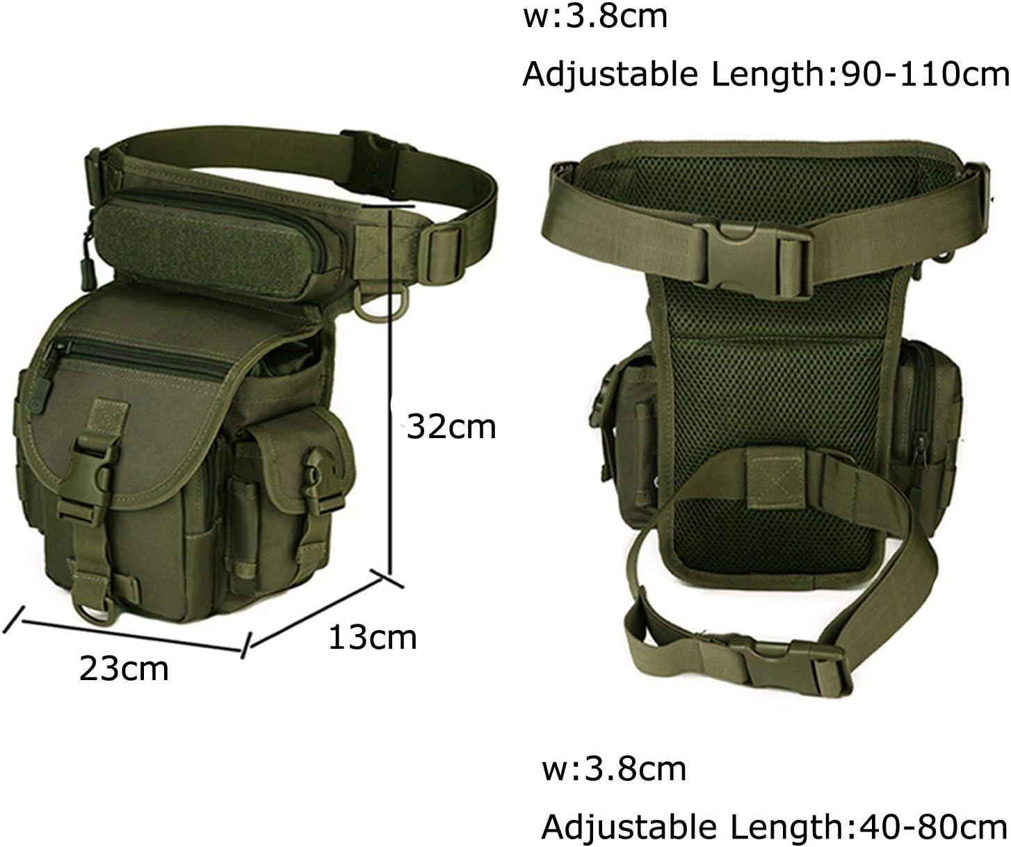 BondFree Dammen Herren Military Tactical H/üfttasche Beintasche f/ür Reisen Radfahren Bergsteigen Sports Outdoor Tasche