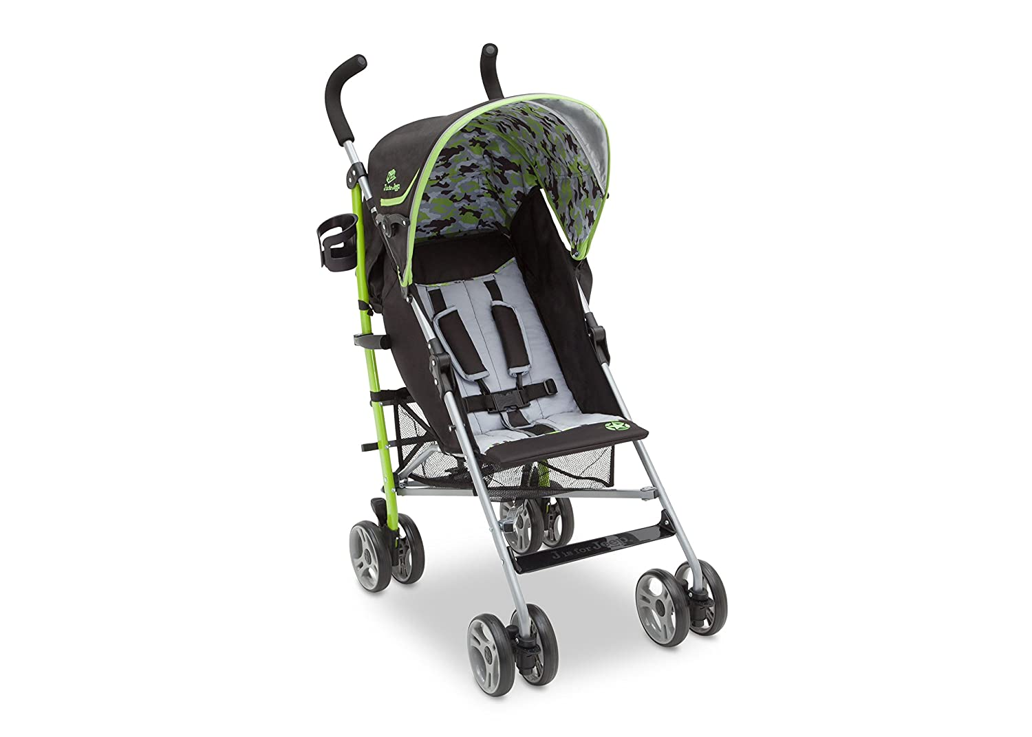 J is for Jeep Brand Scout AL Sport Stroller, Camouflage Green by Jeep: Amazon.es: Bebé