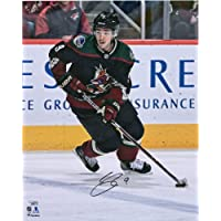 "$50 » Clayton Keller Arizona Coyotes Autographed 16"" x 20"" Kachina Alternate Jersey Skating Photograph - Fanatics Authentic Certified"