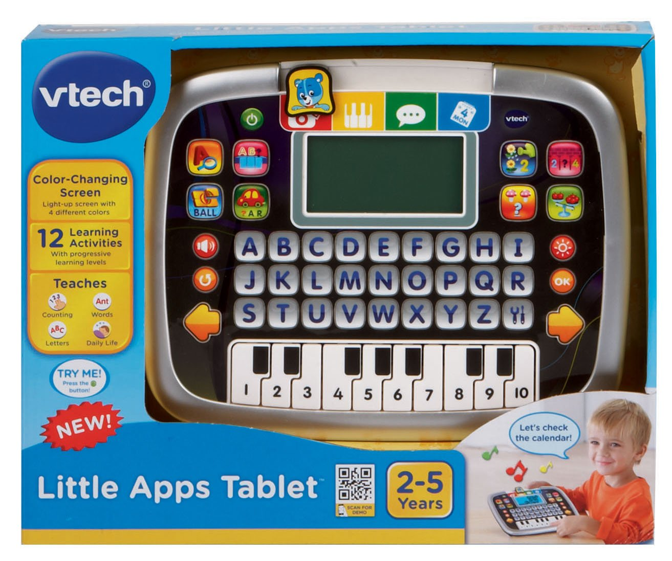 VTech Educational Tablet Toy Games For Baby Toddlers 2-5 ...