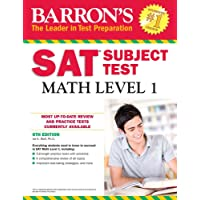 Barron's SAT Math Level 1