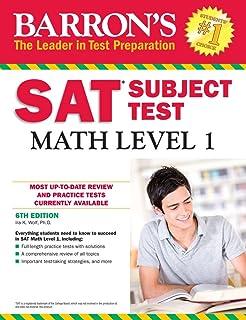 Amazon barrons sat subject test biology em 6th edition with barrons sat subject test math level 1 6th edition fandeluxe Choice Image