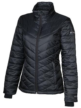 f52a19fd Columbia Womens Morning Light II Insulated Omni-Heat Jacket, BLACK (XS)