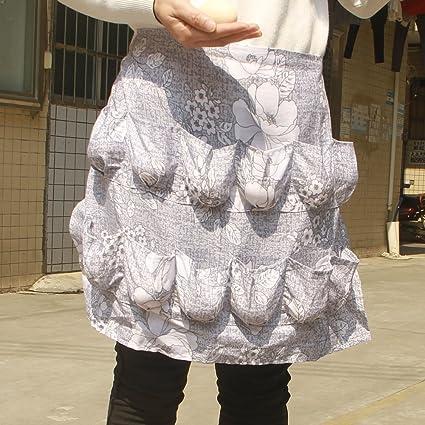 Chicken Egg Apron Bib Kitchen Workwear Waist Tool Aprons Cotton Eggs  Gathering Collecting Utlity Work Shop b56d88059