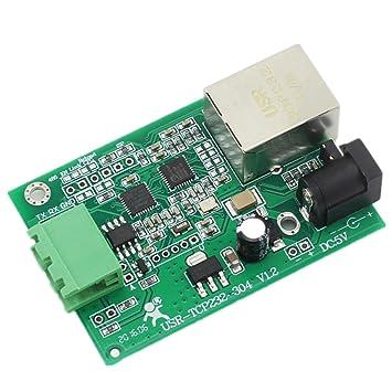 USR-TCP232-304-PCB serielle RS485-zu-Ethernet-Modul TCP: Amazon.de ...
