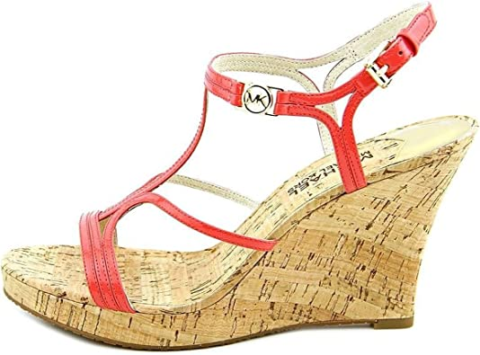 Michael Kors Cicely Wedge in Watermelon