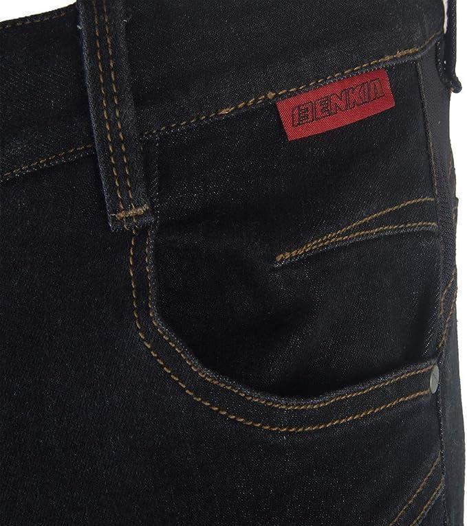 HALOHU Pantaloni da Moto Motocicletta Pantaloni protettivi Jeans Pantaloni da Equitazione Pantaloni da Cross Pantaloni da Equitazione Jeans Antivento