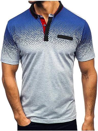 YGbuy-Camisetas de Manga Corta Casual Hipster Camisas Deportivas Sport Graphics tee para Hombres: Amazon.es: Ropa y accesorios