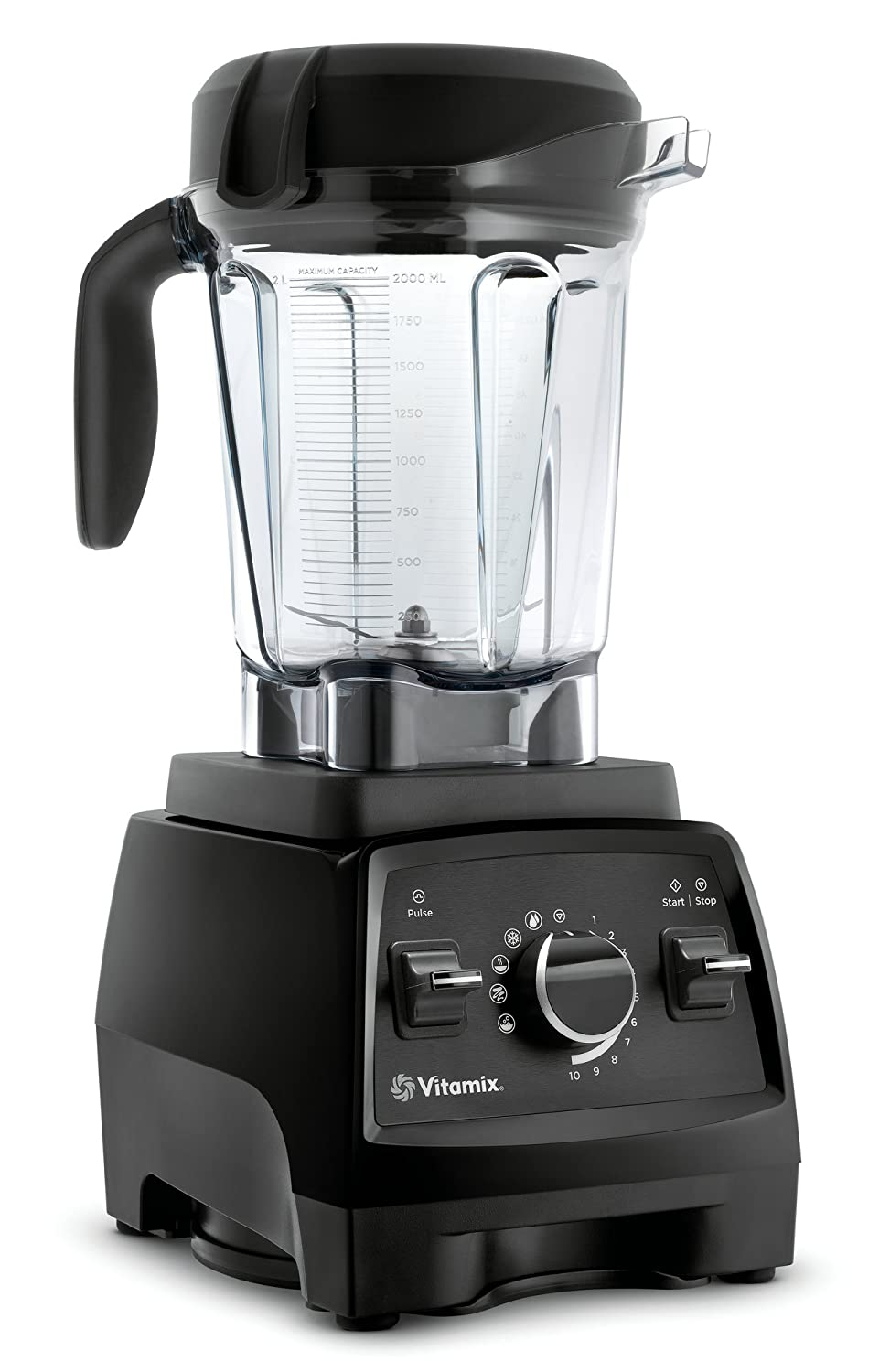 Vitamix Professional Series 750 Blender, Professional-Grade, 64 oz. Low-Profile Container, Black