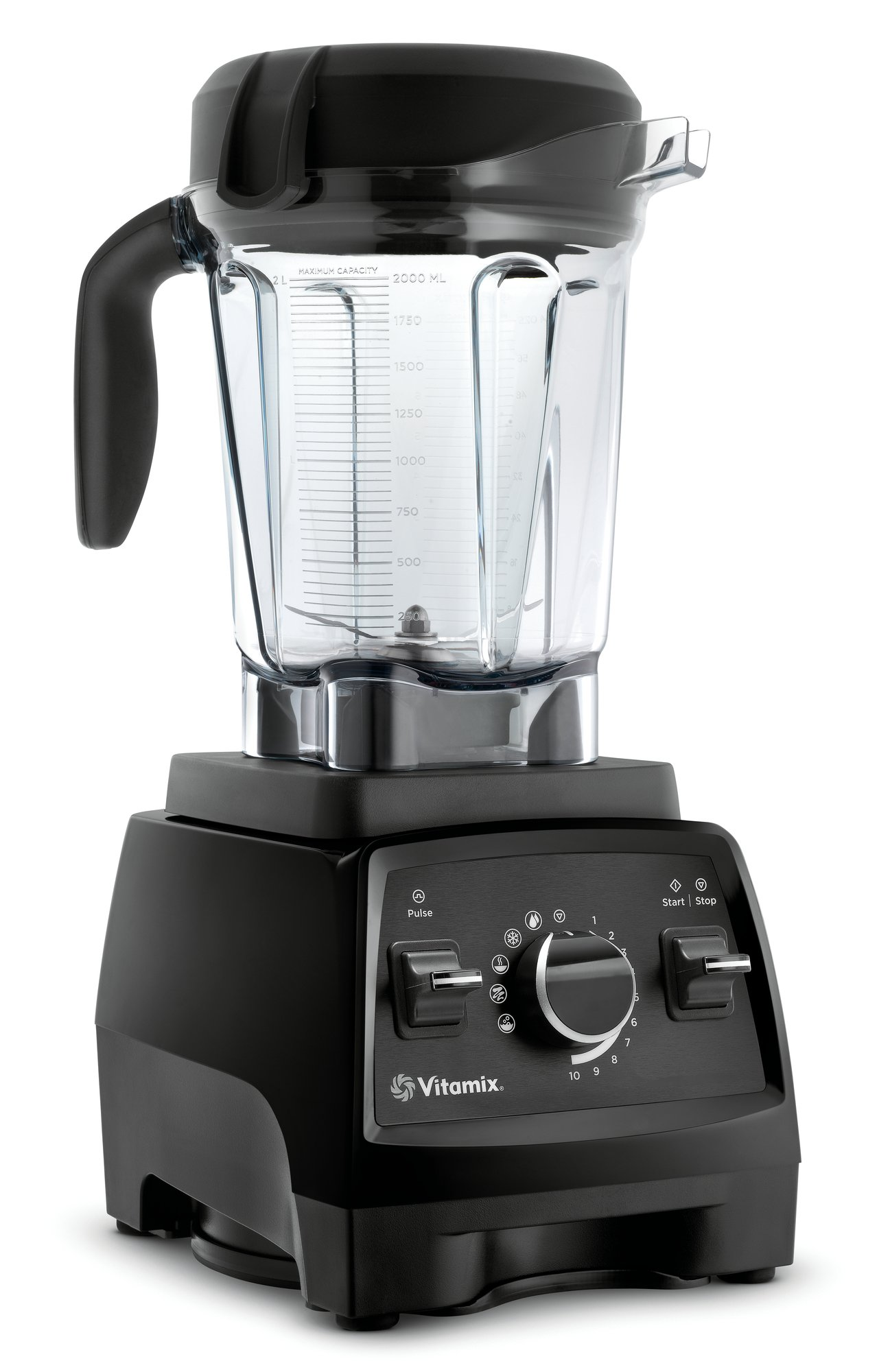 Vitamix Professional Series 750 Blender, Professional-Grade, 64 oz. Low-Profile Container, Black by Vitamix