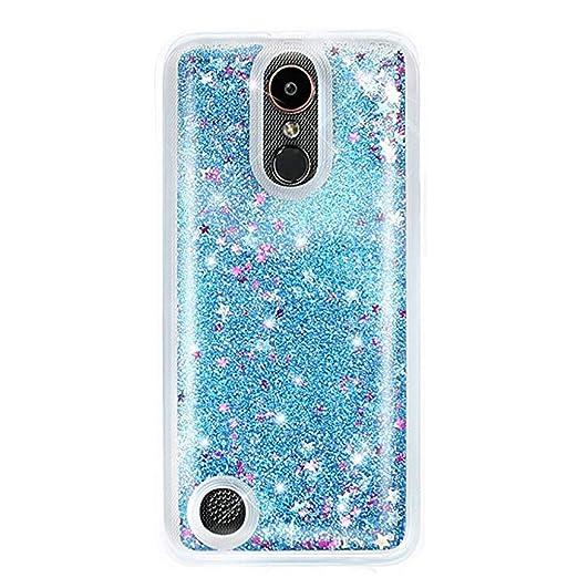 new product 65d11 8a620 Urberry LG K20 Plus Case, LG K20 V Case, Floating Bling Glitter Sparkle  Case for LG K20 Plus/LG K20 V