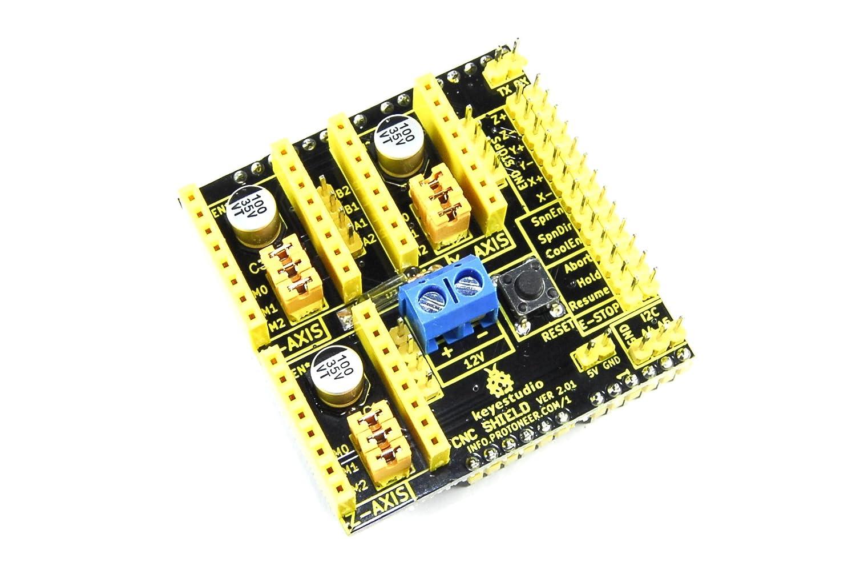 Keyestudio Arduino UNO CNC Escudo ks-151 V2 A4988 3d impresora 12 ...