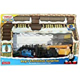 Thomas & Friends Take-n-Play REG'S CHRISTMAS SURPRISE Exclusive Play Set with Scrap Metal Christmas Tree