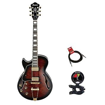 Ibanez Artcore estilo expresionista AG95 zurdos guitarra de cuerpo hueco de 6 cuerdas Guitarra eléctrica Kit
