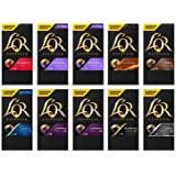L'OR Espresso Variety Pack - Nespresso* Compatible Coffee Capsules (Pack of 10, 100 Capsules in Total)