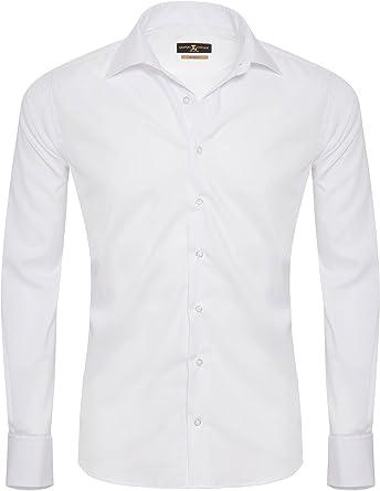 Giorgio Capone Camisa Premium para Hombre, 100% Algodon, Slim/Normal & Regular-Plus Fit: Amazon.es: Ropa y accesorios