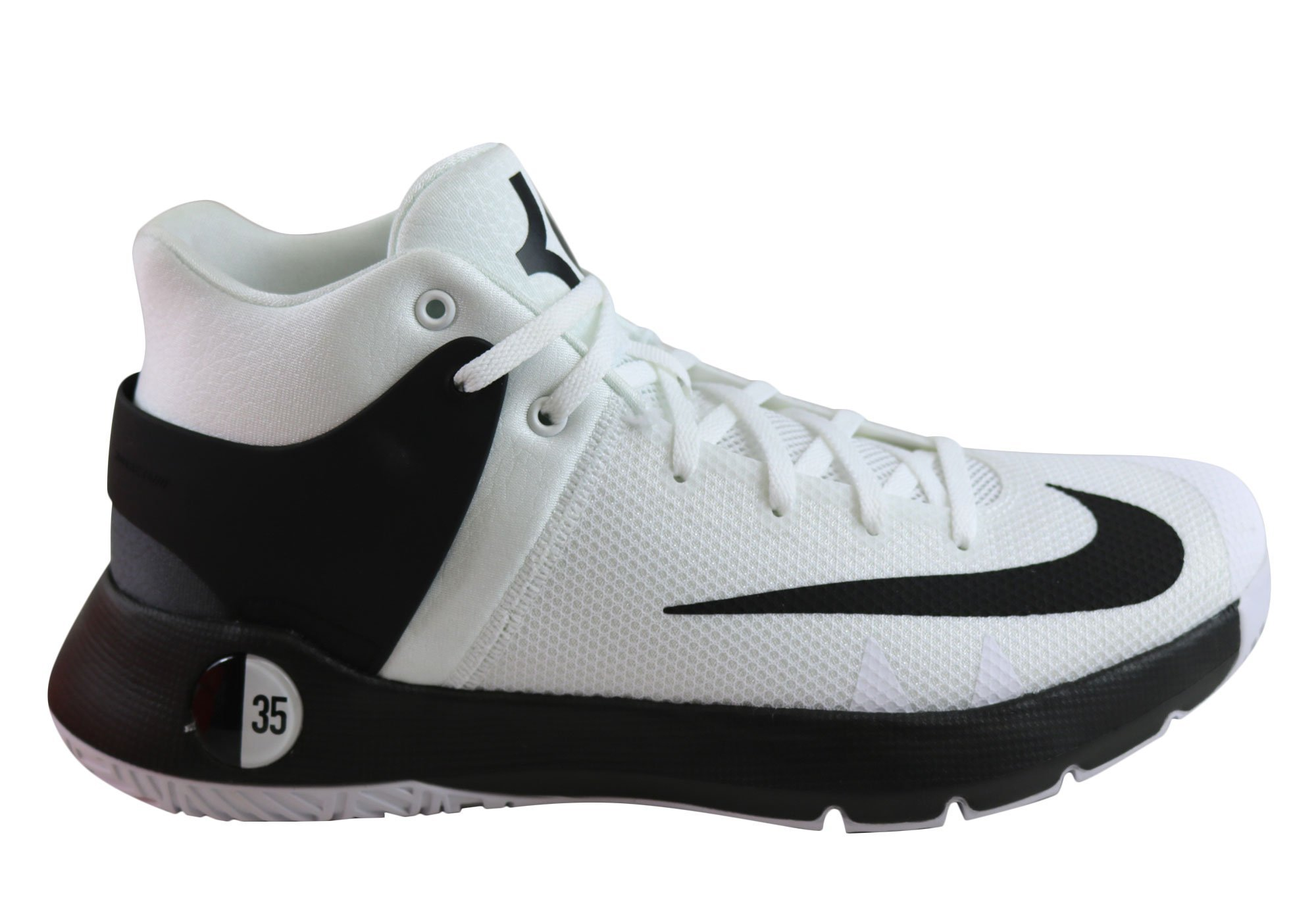 wholesale dealer 2422b 2fa06 Galleon - Nike Mens KD Trey 5 IV Basketball Shoe WhiteBlack