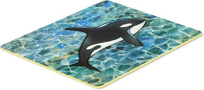 Carolines Treasures Whale Tail Kitchen or Bath Mat 20x30 Multicolor 20Hx30W