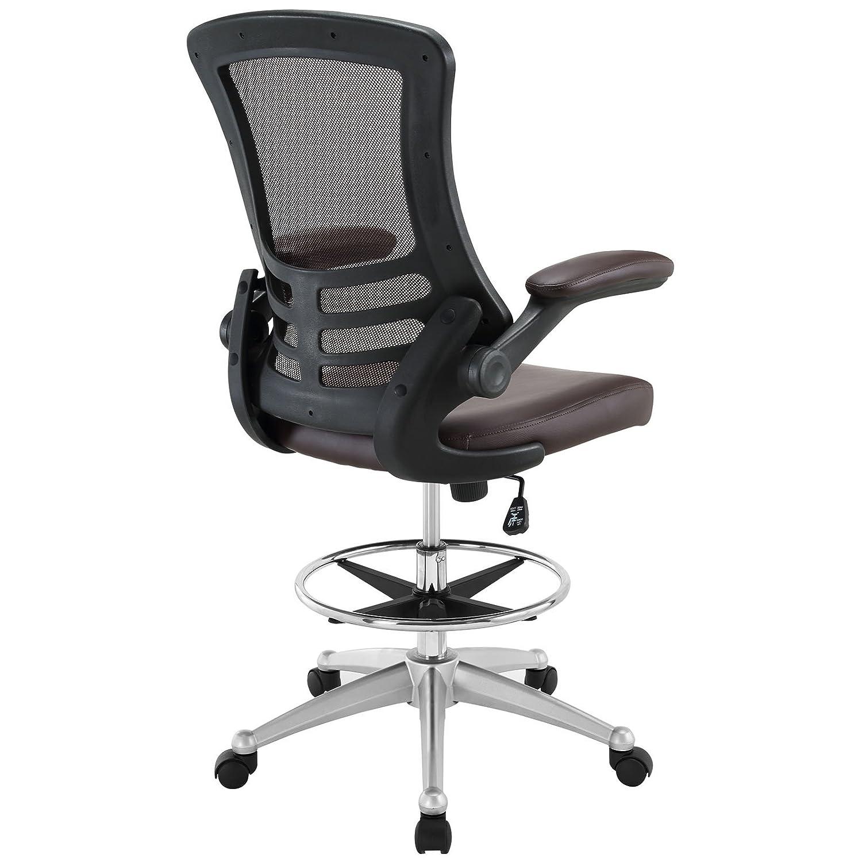Amazon.com: Modway Attainment silla para mesa de dibujo ...