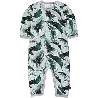 Fred'S World By Green Cotton Palm Bodysuit, Body Mixte Bébé