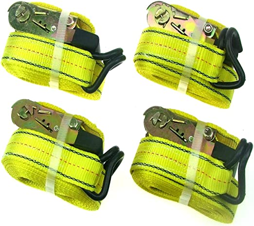 """15 ft Ratchet Tie Down strap 1/"""" x 15ft New in Card"""