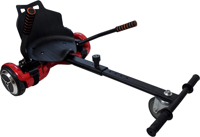 Hoverkart | Hoverkart Metal | Hoverboard Asiento Kart | Hoverkart Asiento Kart | Medidas: 55x47x20 cm: Amazon.es: Deportes y aire libre