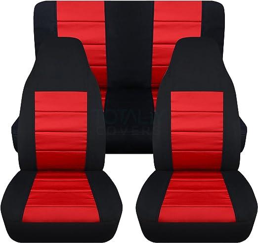 WULE Lot de 2 garnitures de seuil de porte de voiture pour Jeep Wrangler II TJ 1997 1998 1999 2000 2001 2002 2003 2004 2005 2006