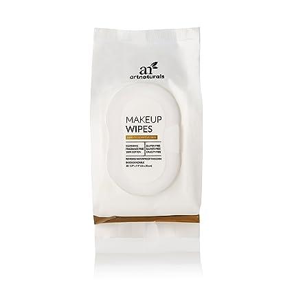 ArtNaturals Toallita Desmaquillante Hipoalergénicas - (Juego de 30 Piezas x 6 Piezas) - Piel Sensible, Normal a Seca - Paños De Limpieza Facial: Amazon.es: ...