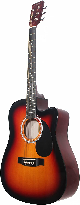 Martin Smith W-600-C-SB - Guitarra acústica con cuerdas ...