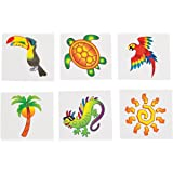 Tropical Tattoos (6 Dozen) - BULK