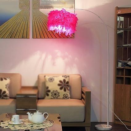 Amazon.com: ETERN LED Floor Lamp Fishing Lights Living Room Simple ...