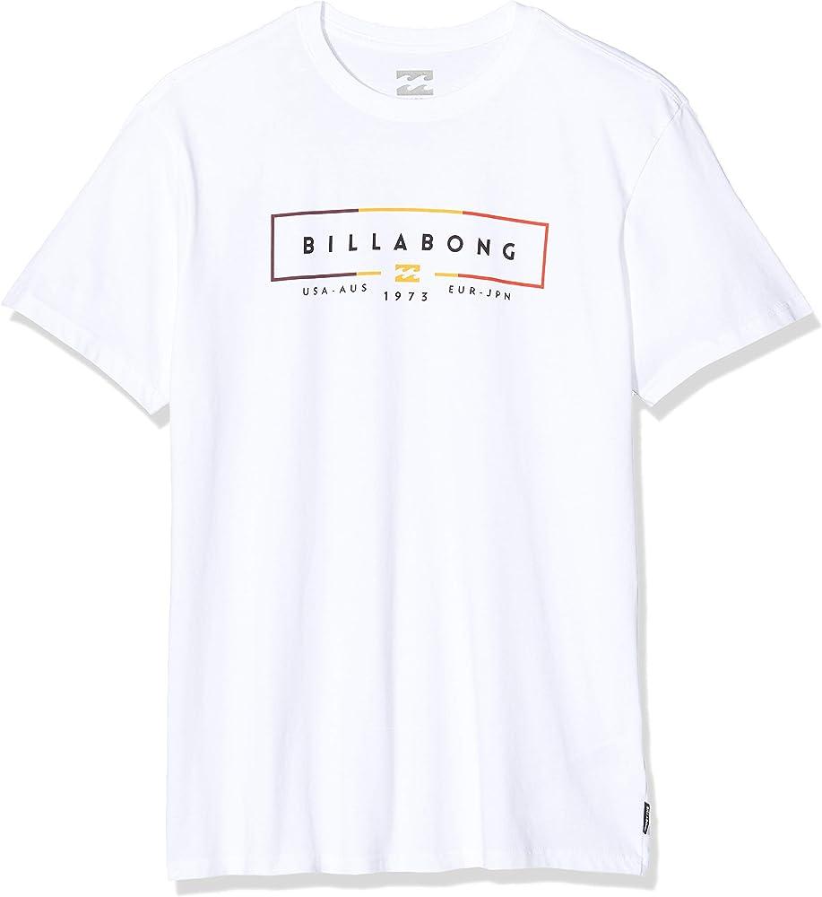 BILLABONG Unity SS tee Camiseta, Blanco (White 10), One Size (Tamaño del Fabricante: XS) para Hombre: Amazon.es: Deportes y aire libre